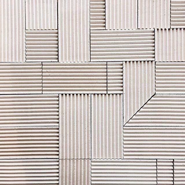 Themotifeye Anchor 100 Series Corrugated Tile By Anchor Ceramics Corrugated Metal Wall Wall Patterns Corrugated Wall