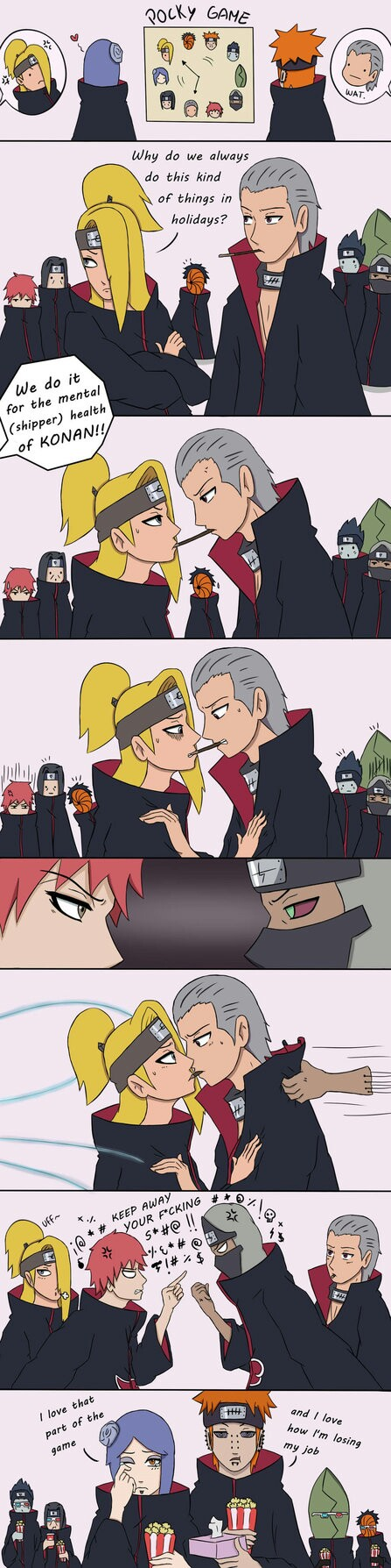 """OMG THIS IS SO FUNNY LMAO!!!  """"and I love how I lose my job"""" LOL PAIN!!! AND KONAN IS MY FAVOURITE"""