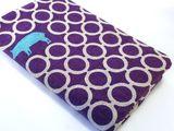 Purple echino pig notebook