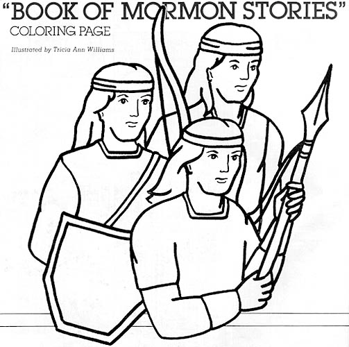 Book Of Mormon Stories Coloring Page In 2020 Book Of Mormon Stories Mormon Stories Book Of Mormon