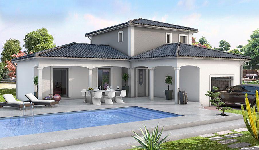 Villa 120 m sur terrain de 1000 m 66510 saint hippolyte for Modele maison californienne