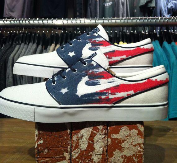 Releases Nike SB Stefan Janoski Customs