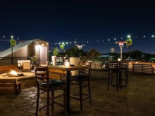10 Best New Patios In Dallas To Drink And Dine Outdoors Rooftop Bar At Nora Restaurant
