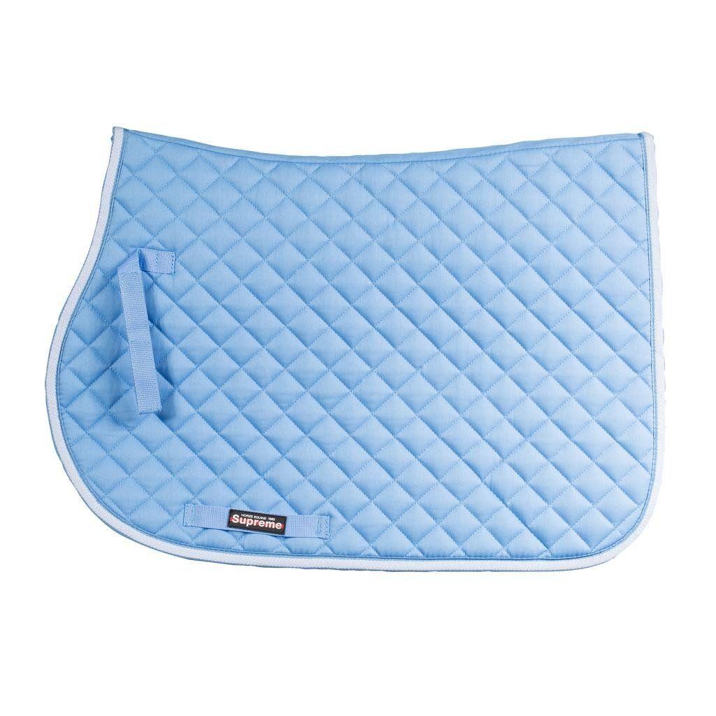 Horze Equestrian Chooze Allround Saddle Pad Light Blue With Images Saddle Pads Horze Saddle