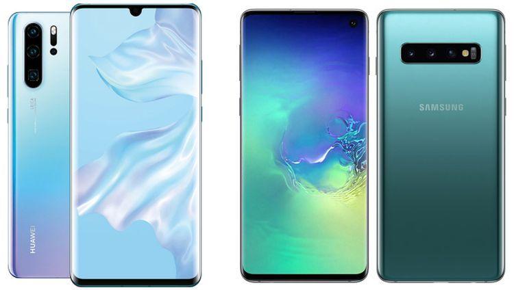 Vergelijking Huawei P30 Pro Vs Samsung Galaxy S10 Plus Technik