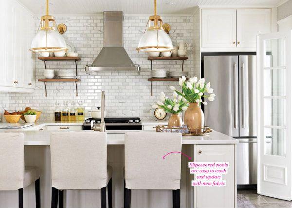 white marble kitchen crushes