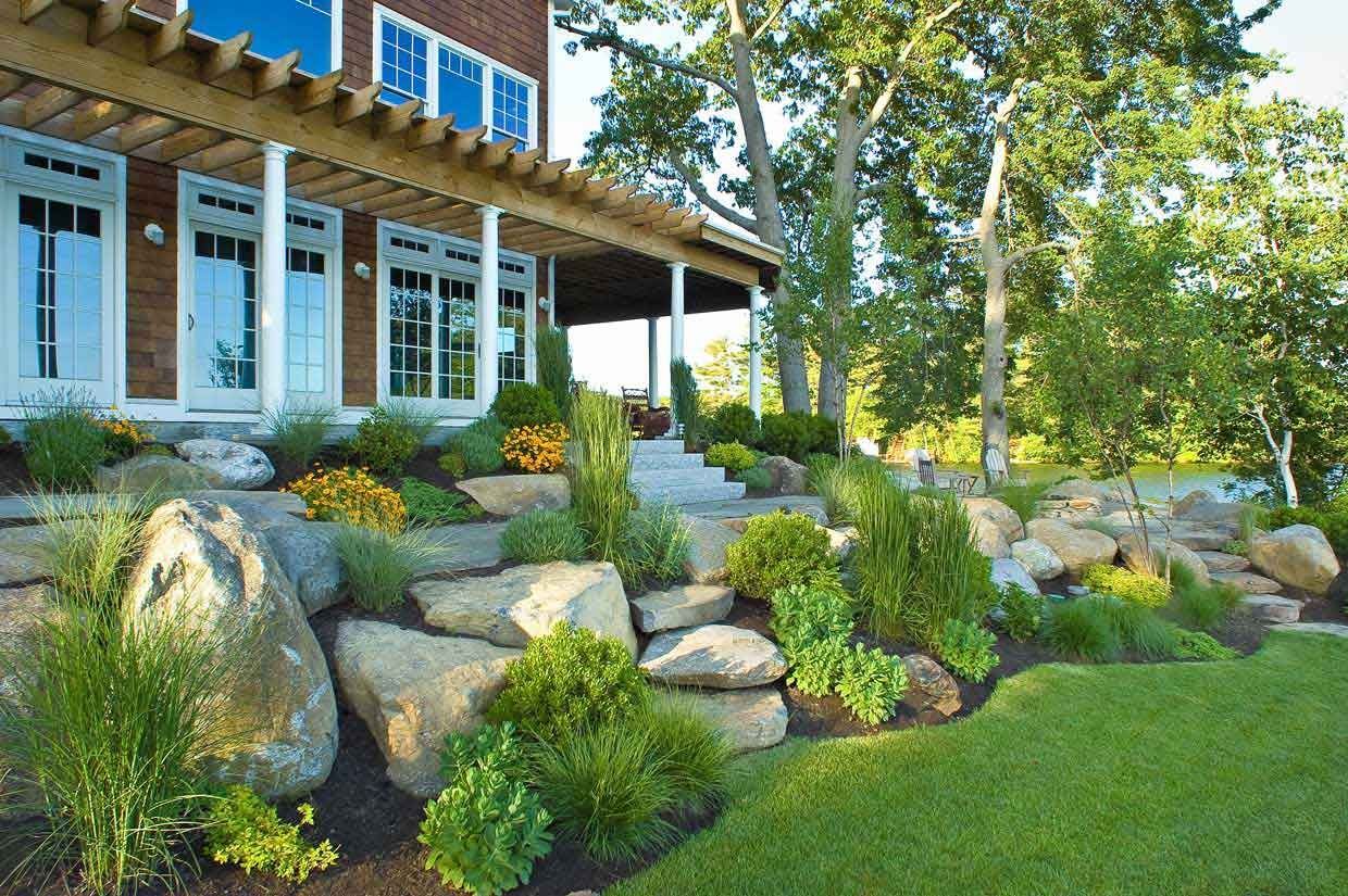 Gartengestaltung Ideen Hügel Landscaping With Rock Houses I 39d Like To Live In