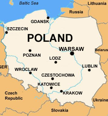 Poland Map Basic Data Of Poland Infolaso Tables Of - Poland map