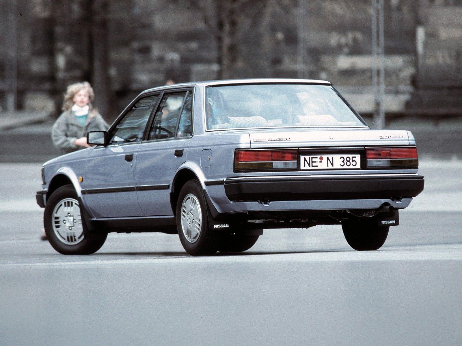 Nissan Bluebird Sedan Eu Spec U11 1983 85 日産 ブルーバード 本田技研工業