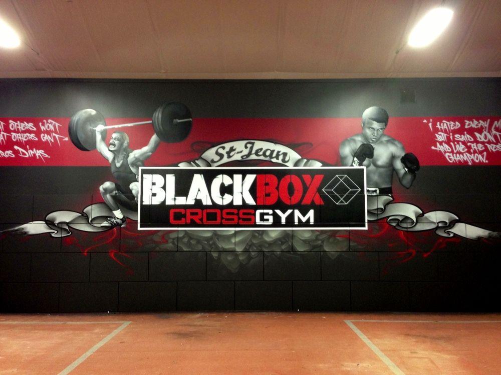 Interior Murals Decor Interior Murals Gym Wall Decal Gym Art