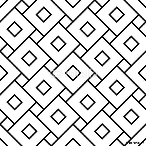 pillow texture seamless. Vector: Vector Modern Seamless Geometry Pattern Squares, Black And White Abstract Geometric Background, Pillow Texture C