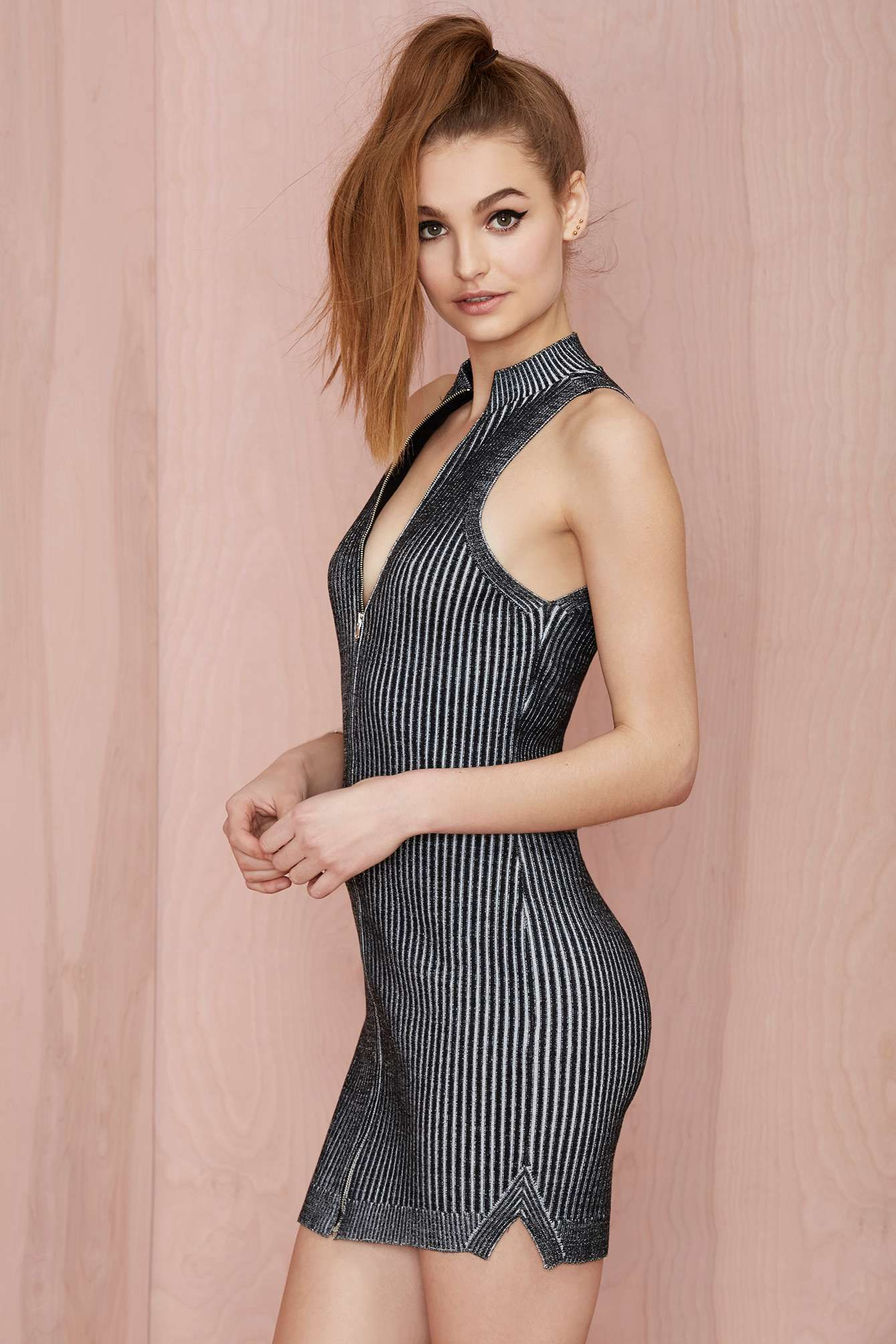 Nasty Gal Fool for the City Ribbed Dress | Shop Work Hard, Play Harder at Nasty Gal
