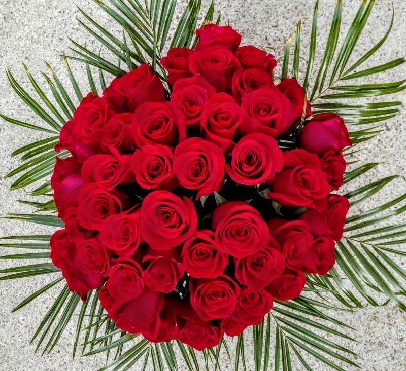 Cuánto Cuesta Un Ramo De 50 Rosas Rojas Ramo De Rosas Rojas Docena De Rosas Rojas Significado De La Rosa