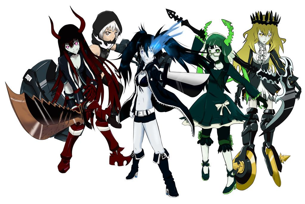 Black Rock Shooter Anime Characters Black rock shooter