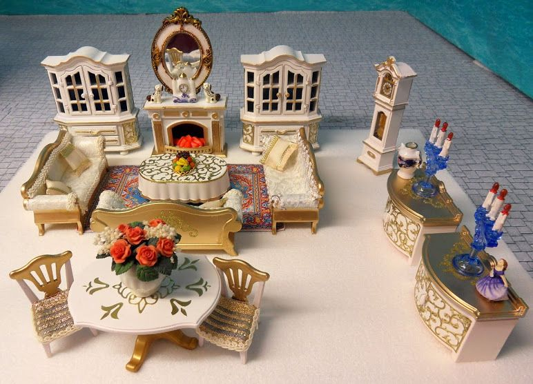 Playmobil Wohnzimmer ~ Playmobil by emma j victorian christmas living room playmobil