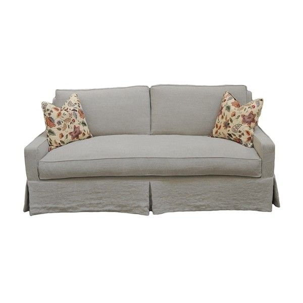 Taylor Scott Drew Sofa ($3,060) Found On Polyvore Featuring Home, Furniture,  Sofas