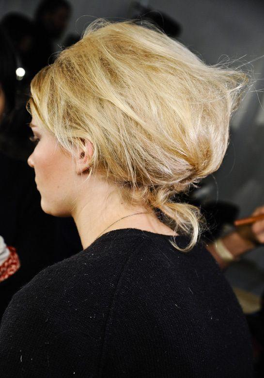 Les tendances coiffures des défilés automnehiver 2012