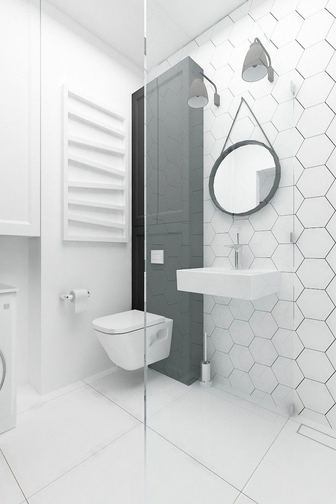 Eclectic Style Bathroom By I Home Studio Barbara Godawska