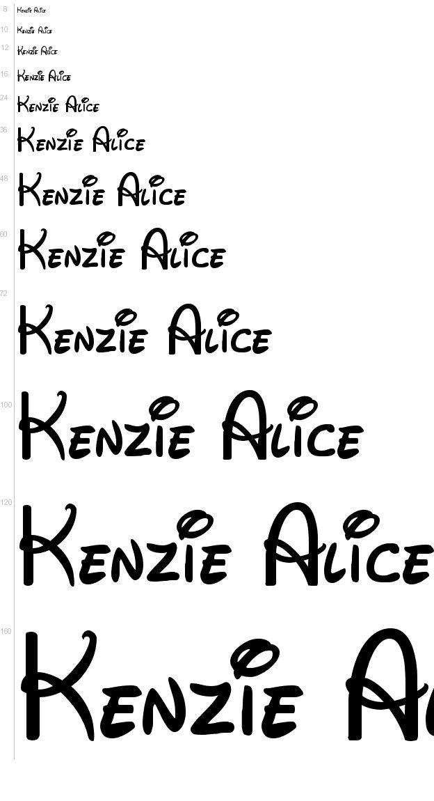 Free Fonts - Walt Disney font UrbanFonts Cricket Pinterest