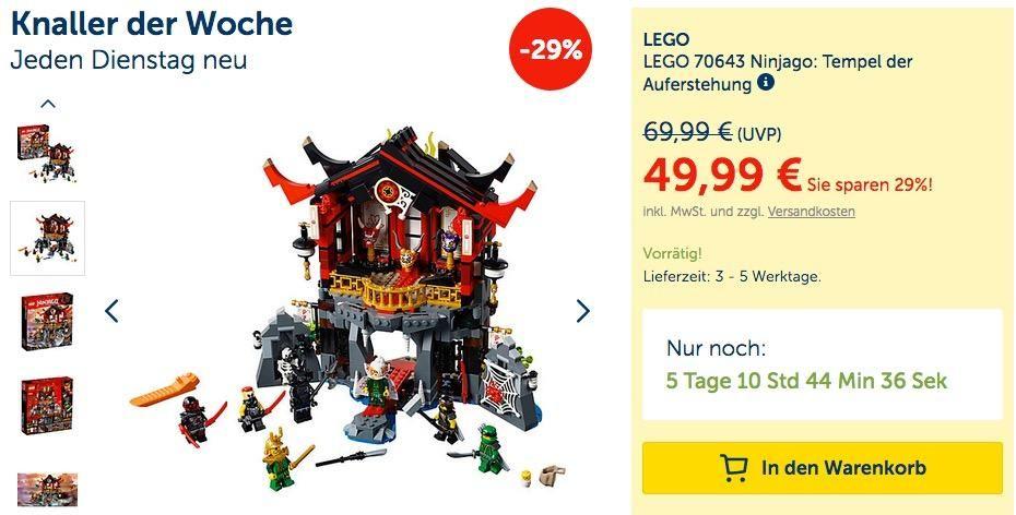 Lego 70643 Ninjago Tempel Der Auferstehung Lego Auferstehung Tempel