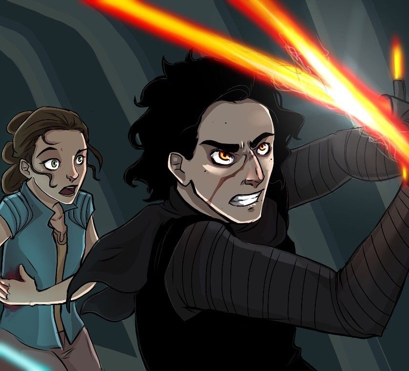 Reylo V What Is Going On Oh My Gosh Who Is Fighting
