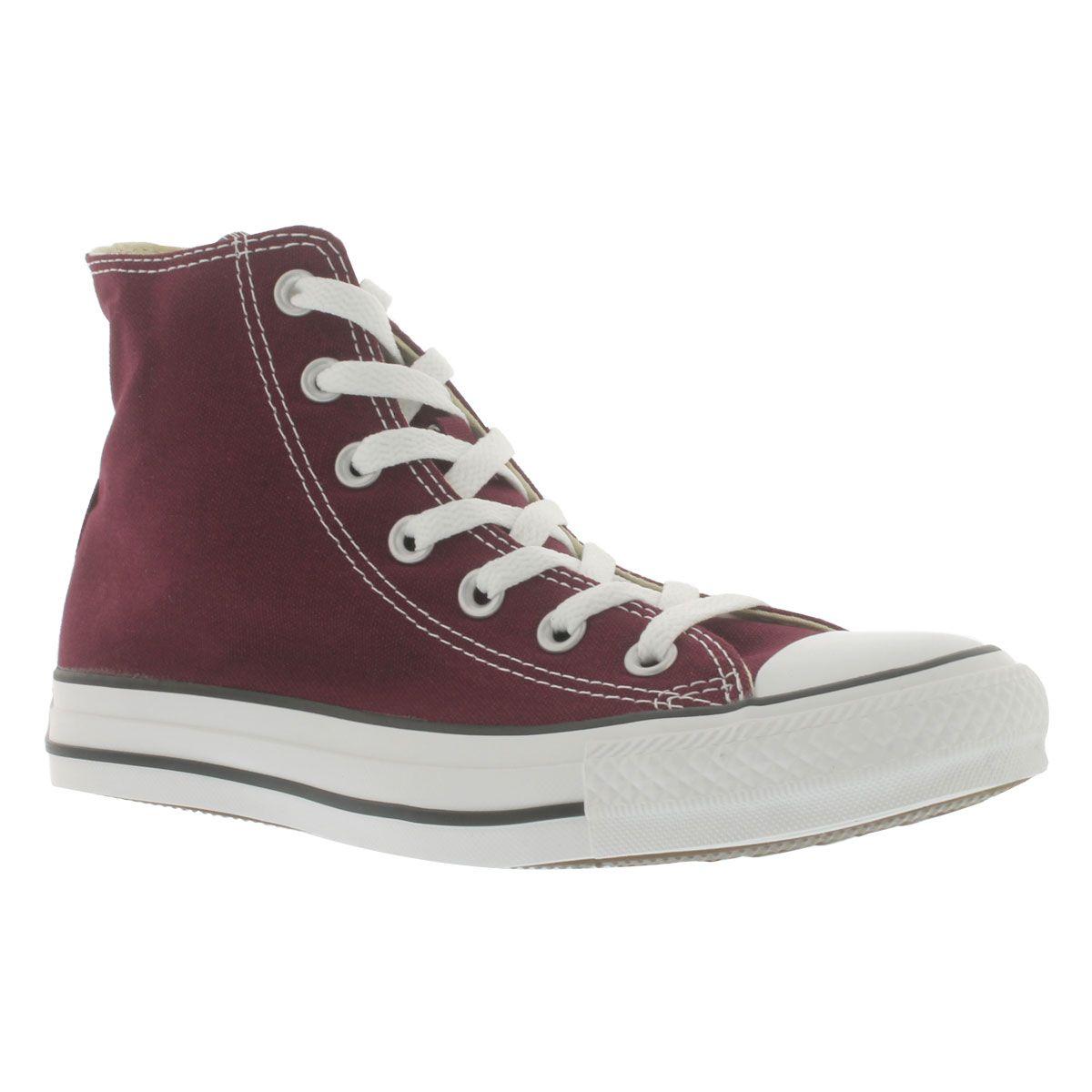 10fd146d4230e7 Converse Women s CT ALL STAR SEASONAL burgundy sneakers 139784C ...