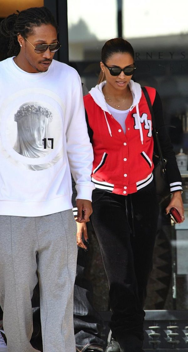 Future Rapper Photo Future Ciara Coupled Up Out Shopping In