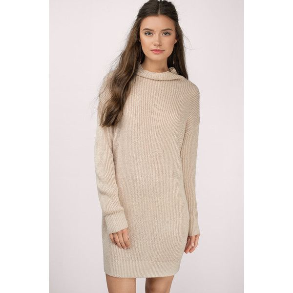 91e2cb153f Tobi Up To It Sweater Dress ( 66) ❤ liked on Polyvore featuring dresses