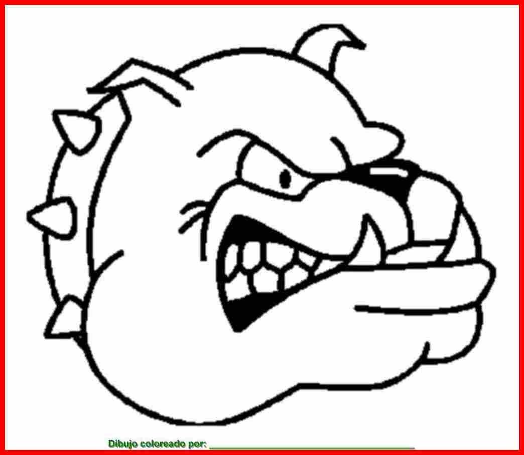 perro enfadado para colorear PULSAR SOBRE LA IMAGEN PARA IMPRIMIR ...