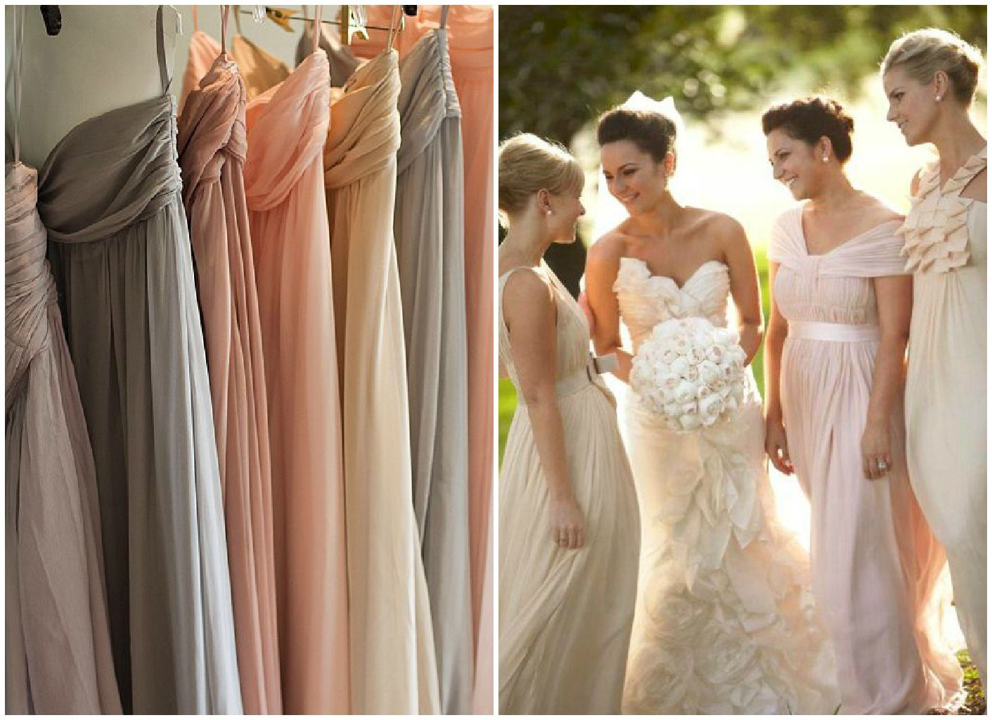 Neutral the in color for weddings pick your palette neutral across the pond monogamy monday bridesmaid dresses 25 exotic inspiration neutral bridesmaid dresses ombrellifo Image collections