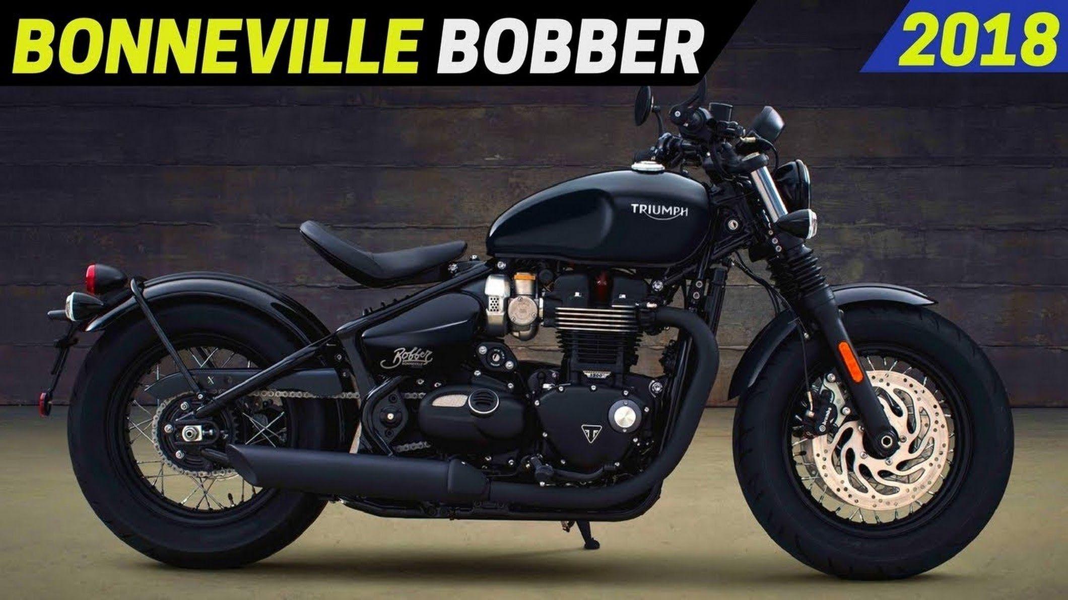 FYI: NEW 2018 Triumph Bonneville Bobber ( Black ) https://www ...