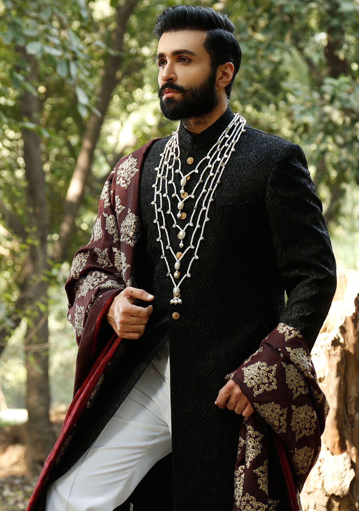 Latest wedding sherwani designs by amir adnan sherwani wedding