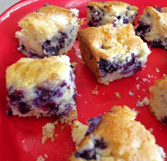 SECRET RECIPE CLUB: BUTTERMILK-BLUEBERRY BREAKFAST CAKE