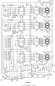 Circuito do temporizador de contagem regressiva ECE130