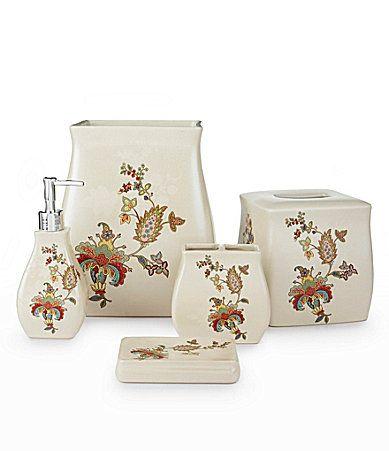 J queen new york verona bath accessories dillards products i love pinterest bath for Dillards bathroom accessories sets
