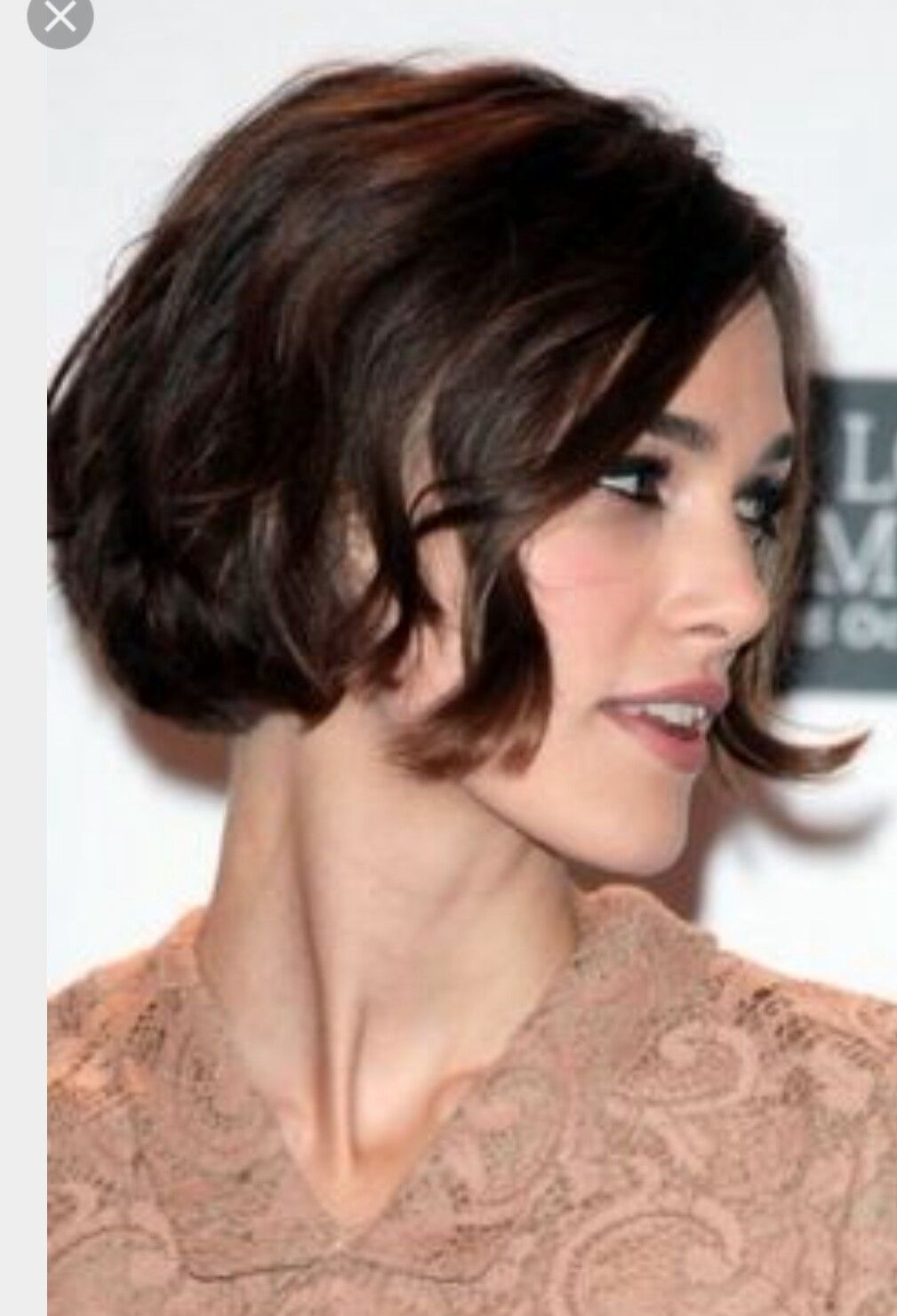 Carré court pinterest keira knightley short hair and