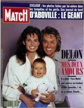 Amazon Fr Paris Match N 2219 D Aboville Le Geant 5 Decembre 1991 Collectif Livres Anouchka Delon Paris Match Delon