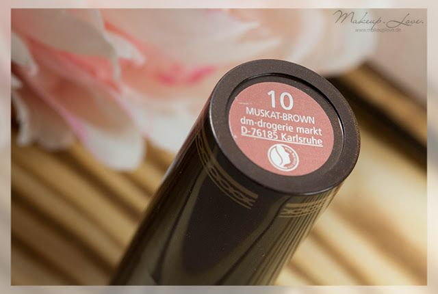 Beauty Blog Alverde Oriental Bazaar Limited Edition Muskat Brown Lippenstift Lippenstift Dm Drogerie Dm Drogerie Markt