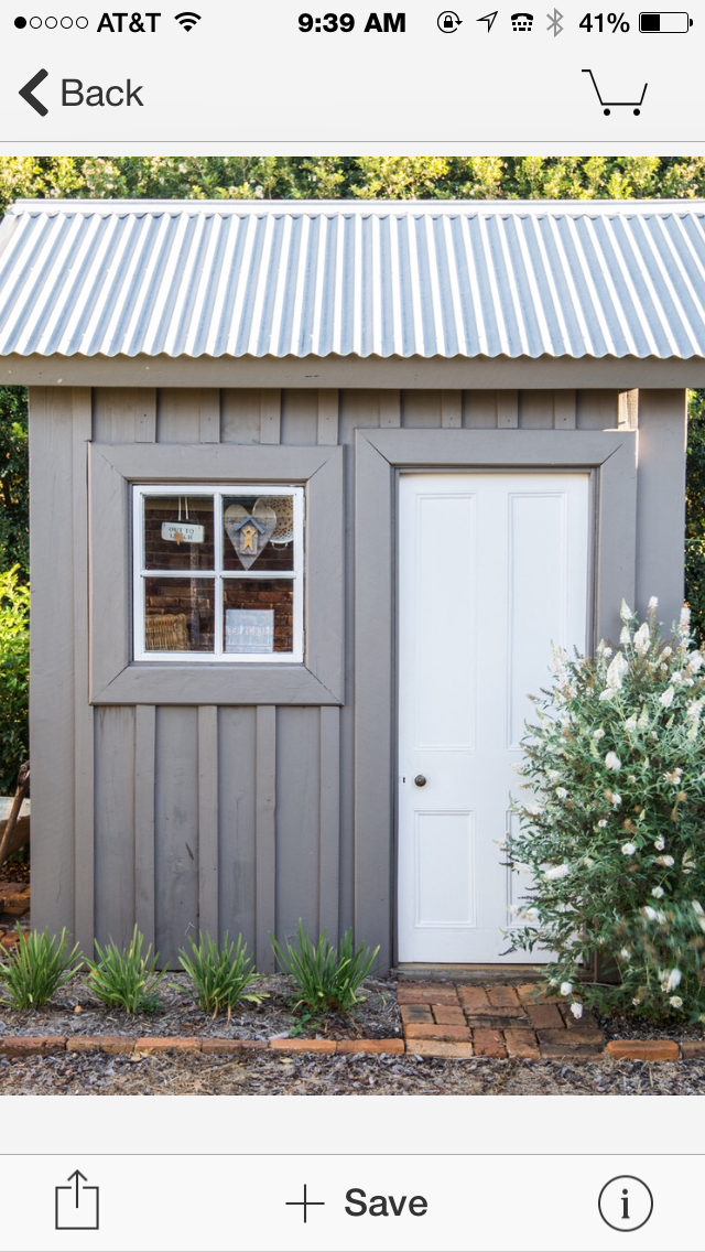 Perfect Finishing Materials For A Shed Farmhouse Sheds Pump House Metal Shed