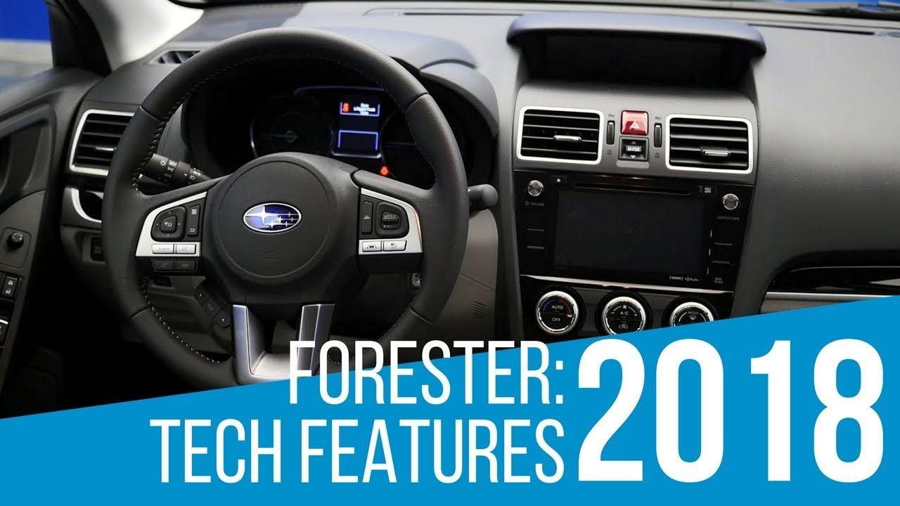 2018 subaru forester tech features tech features