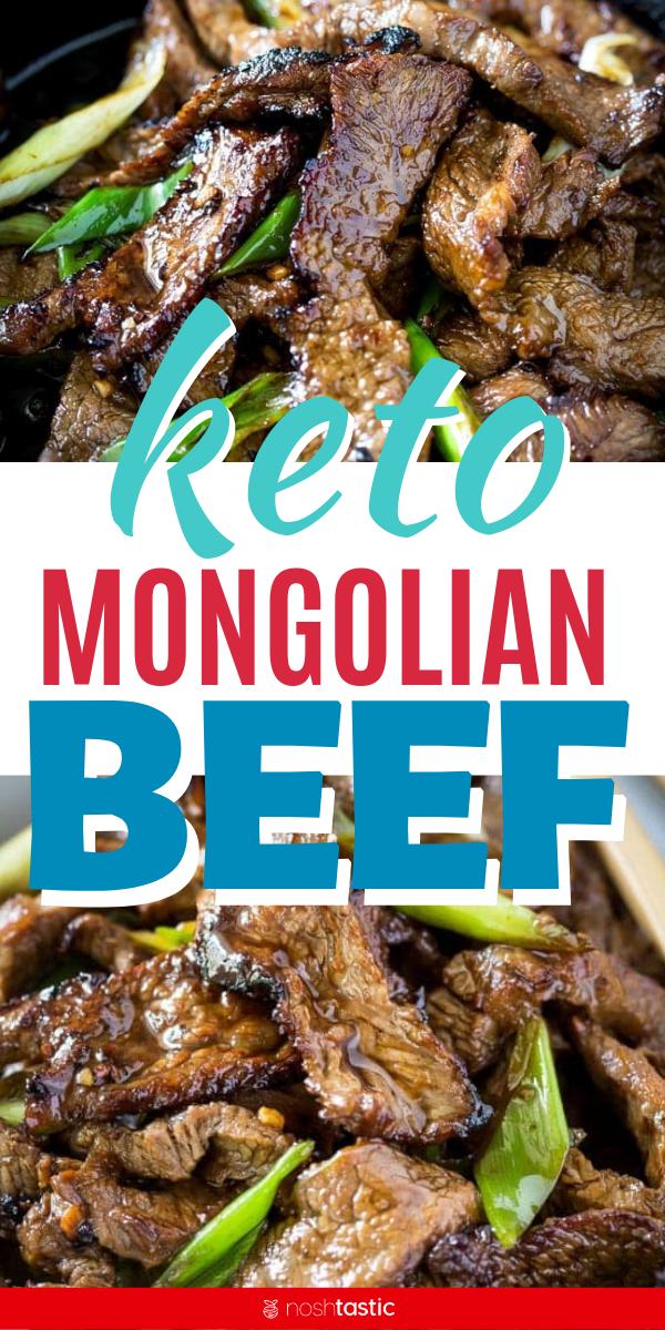 Keto Mongolian Beef #chinesemeals