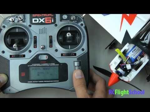 ▷ How To Bind An RC Plane or Helicopter-Using Spektrum DX6i