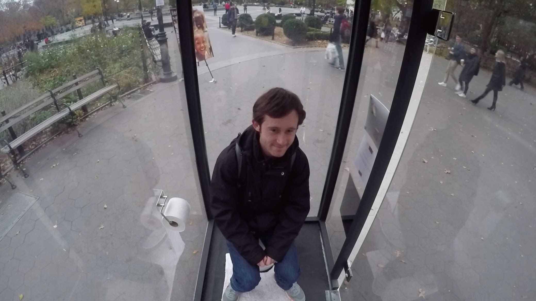 would you use this see-through toilet? | videos | pinterest | toilet