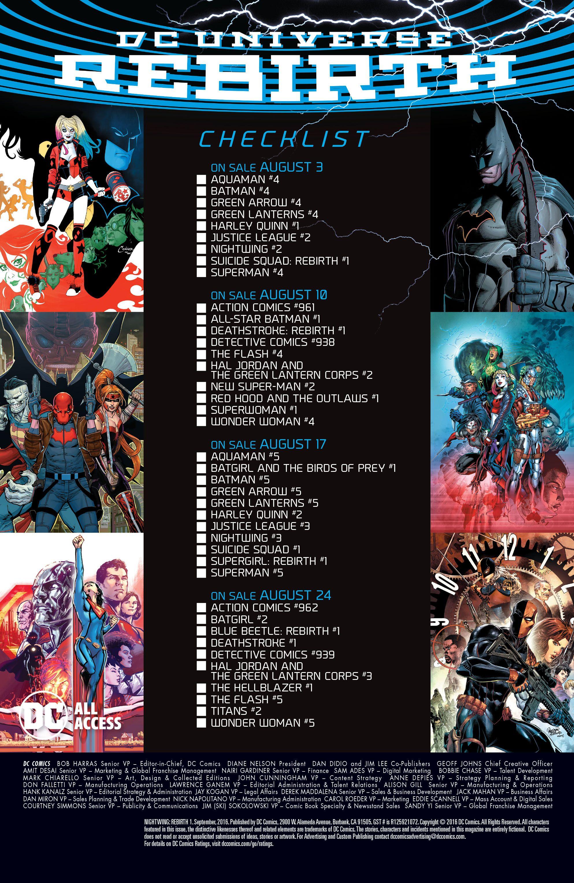 Batwoman Rebirth 1 2 3 4 5 6 Complete Comic Lot Run Set DC EXCELSIOR BIN