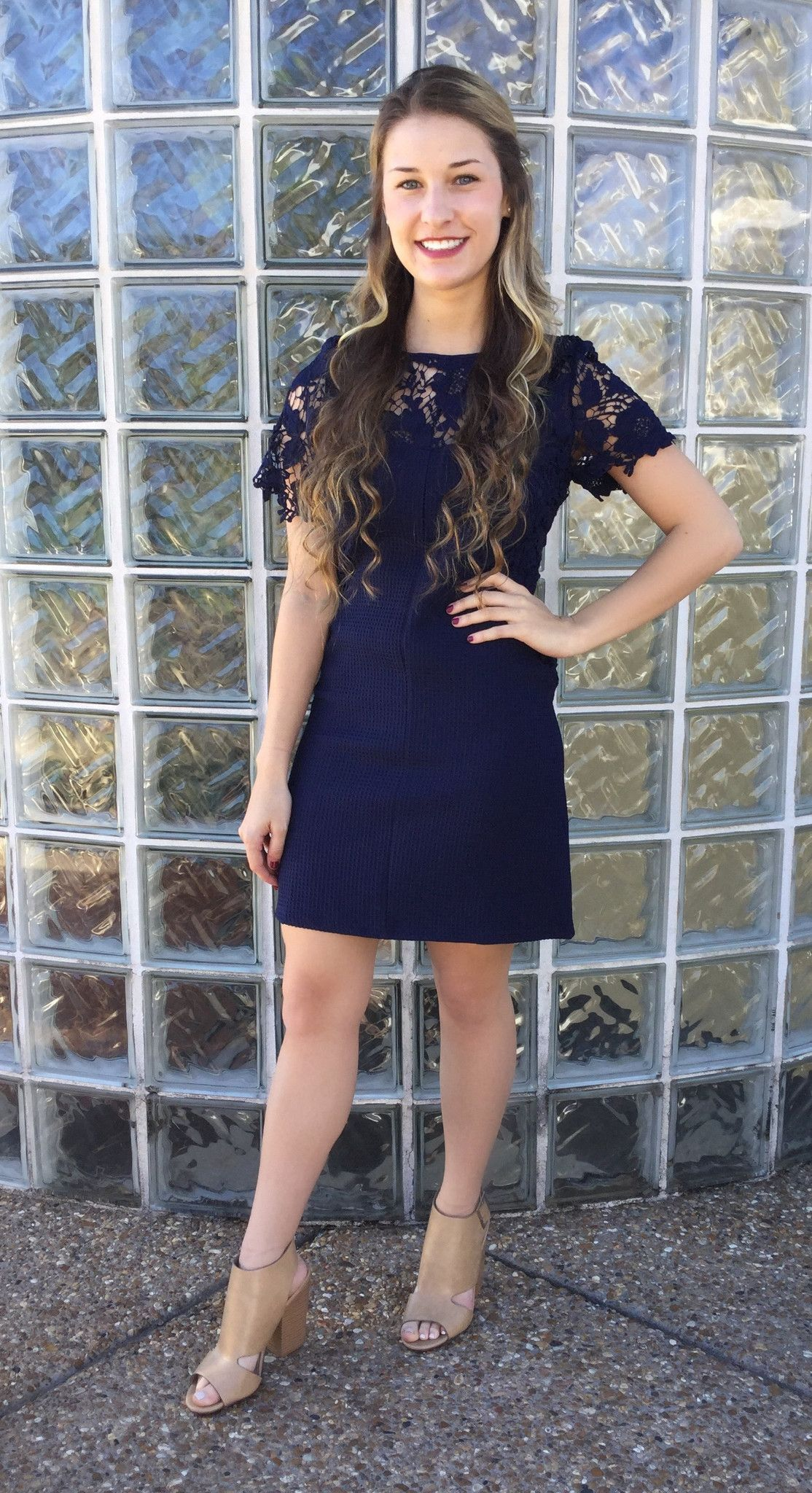 One evening navy lace dress navy lace and products