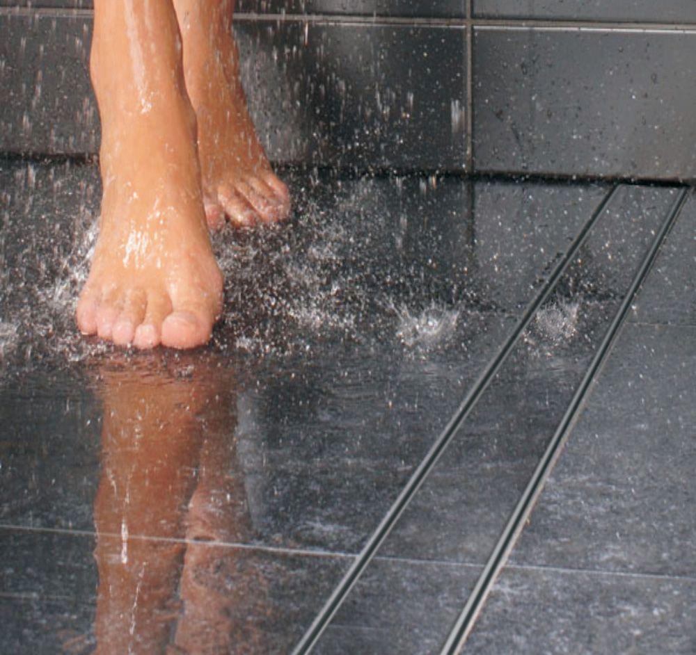 linear floor channel drains gully shower wet room. Black Bedroom Furniture Sets. Home Design Ideas