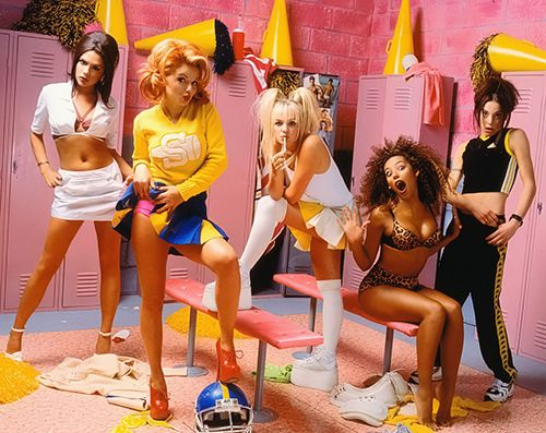 Spice Girls Locker Room With Images Spice Girls 90s Girl