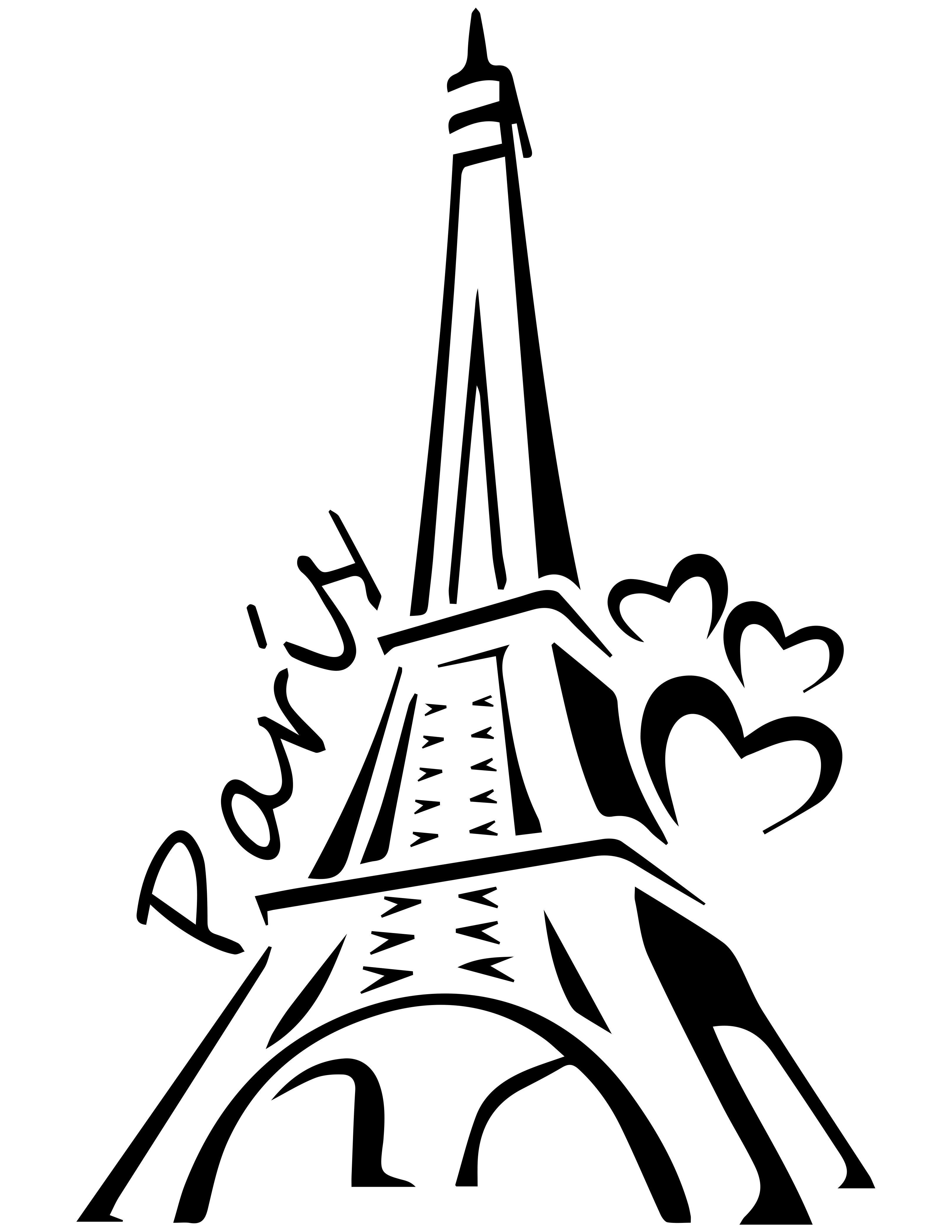Quieres Esta Imagen En Vectores Editable Escribenos A Nuestro Correo Para Solicitarla Playerasjoss Gmail Com Y Eiffel Tower Art Paris Silhouette Clip Art