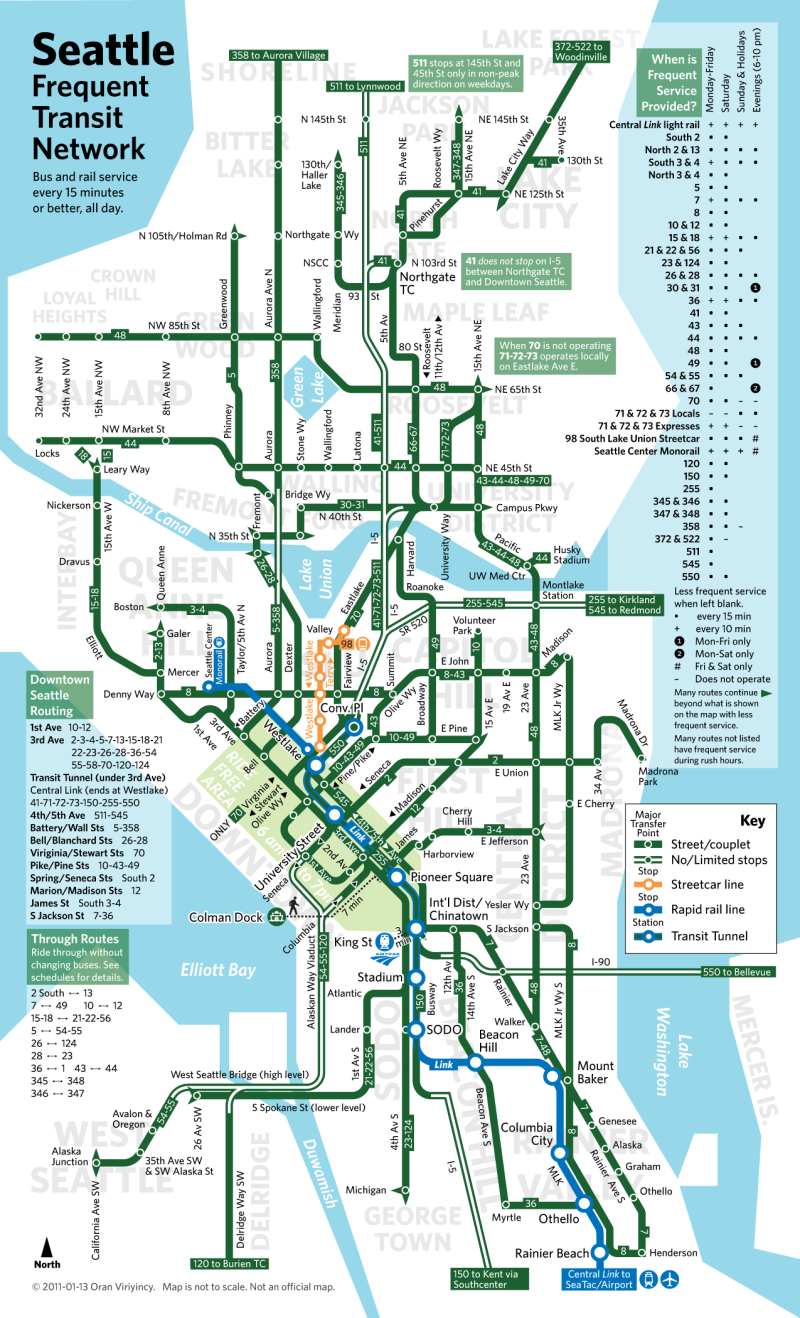 Seattle ftn | Transit | Seattle map, Map, Bus route map on king county zip code map, king county metro system map, king county transit downtown seattle map, king county washington map, king county wa zoning map,