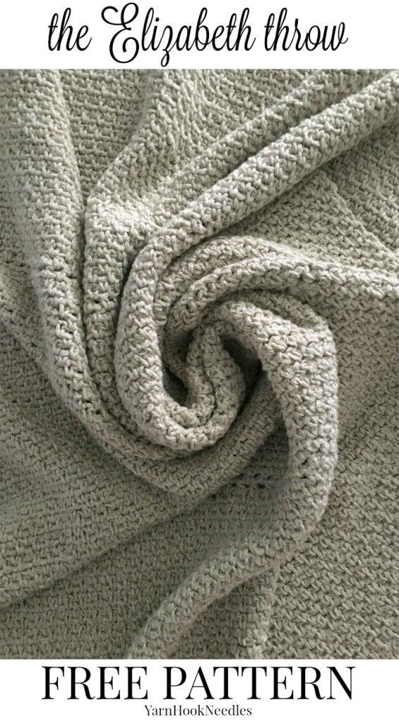 The Elizabeth Throw with a FREE Crochet pattern! - yarnhookneedles ...